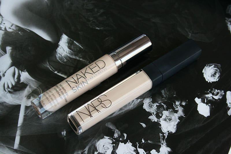 NARS Radiant Creamy Concealer VS Urban Decay naked Skin